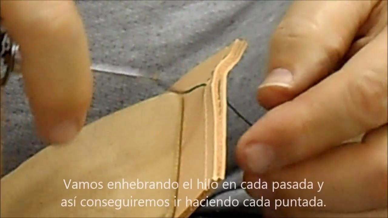Artesanía Profesional//Punto De Diamante coser cuero guarnicionero Arnés punzón Blade