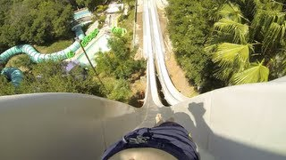 Drop Out (HD POV) - Water Slide at Raging Waters (San Dimas, CA)