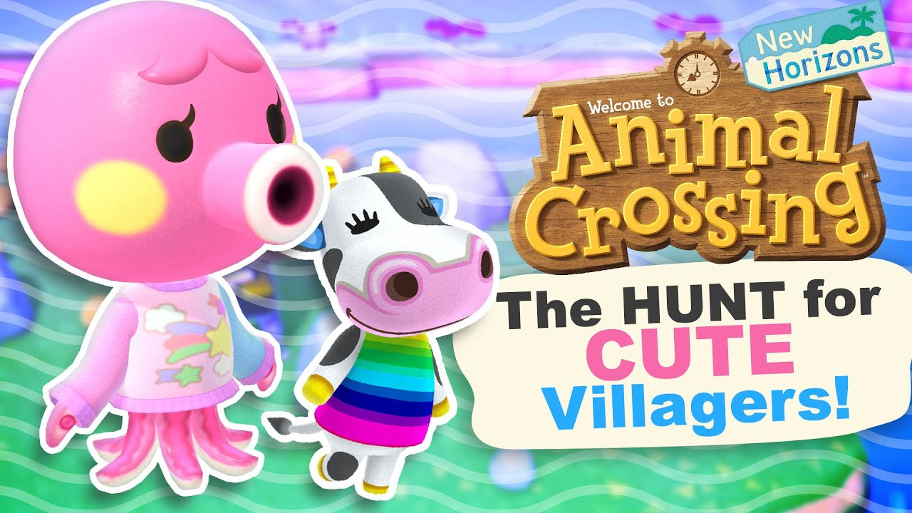 The Hunt For Cute Villagers In Animal Crossing New Horizons Youtube