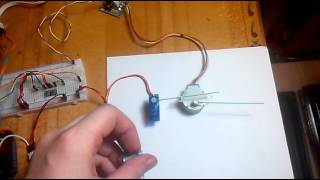 Arduino + servo + stepper