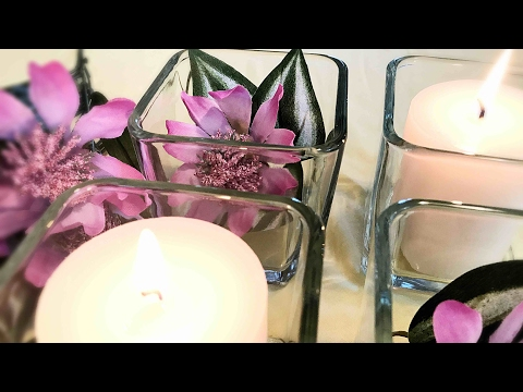 Dollar Tree Flowers & Candles || How to Create a