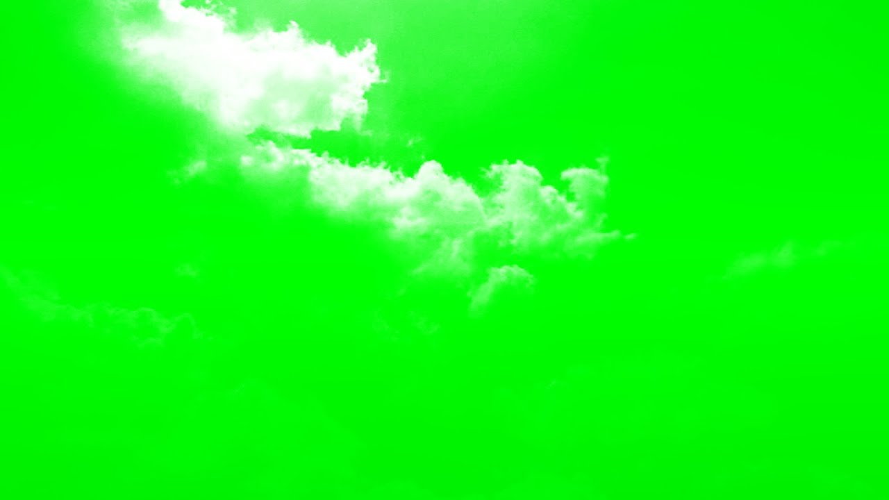 Green Screen Sky Effect Background Video Time Lapse Clouds Moving Footage Relax Piano Sound - EP 139