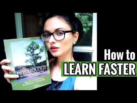 HOW TO LEARN FASTER // Study Smarter Not Harder