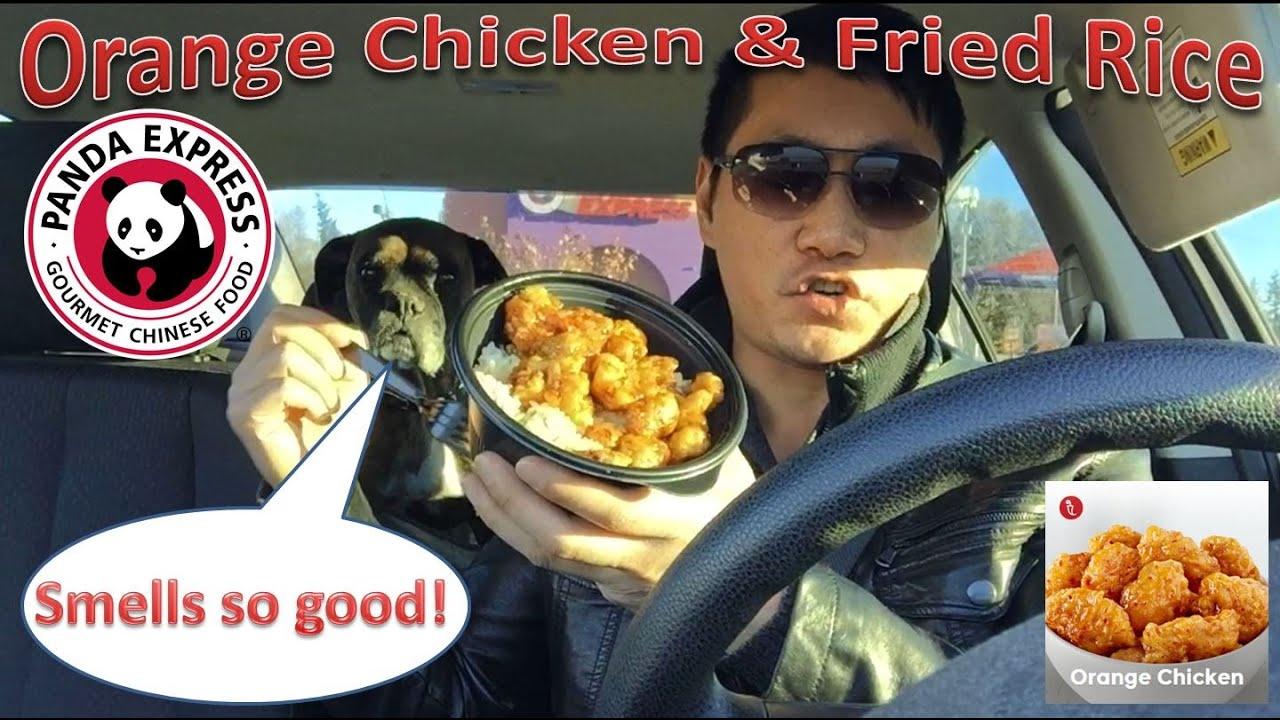 Panda express orange chicken fried rice review youtube ccuart Images