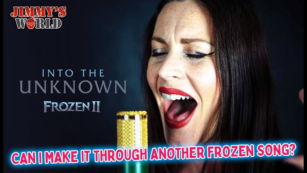 CAN I MAKE IT THROUGH ANOTHER FROZEN SONG? Floor Jansen 'Into The Unknown' - Frozen 2 Cover.