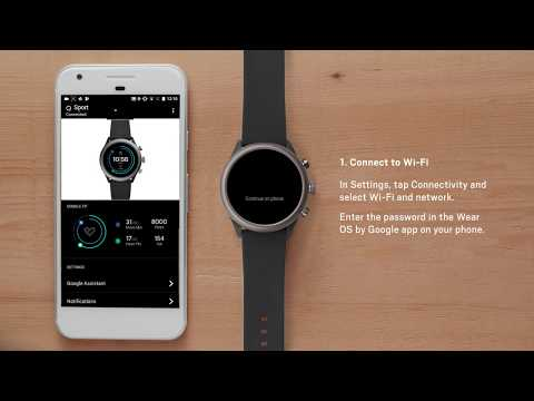 How To: Set Up Your Fossil Sport Smartwatch
