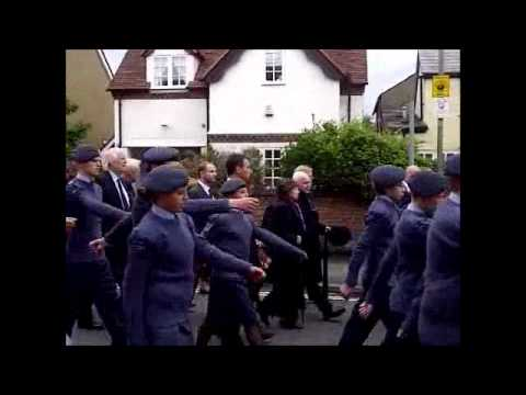 robin gibbs funeral procession