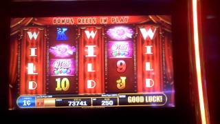 Betty Boop Love Meter video slot machine bonus 1 spin 3 Wild Reels