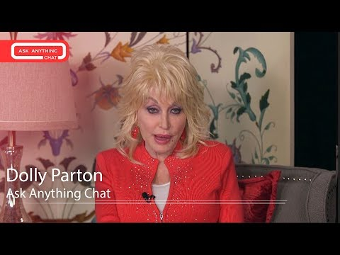 Dolly Parton Talks About Working Her TV Remote & The Food On Her Tour Bus