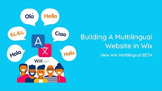 Building A Multilingual Website in Wix | 2019 Edition | Wix Website Tutorial
