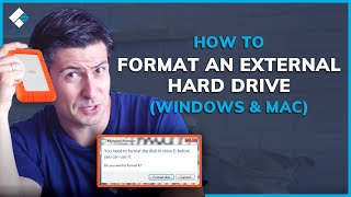 how to Format External Hard Drive for Mac & Windows (MS-Dos or ExFat?)