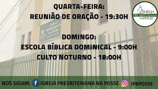 Culto Doutrinário - 06.10.21