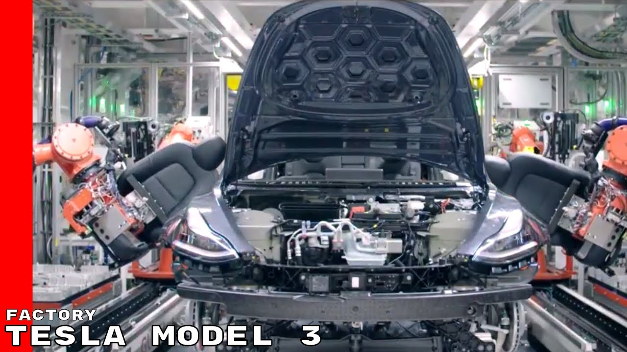 Image result for Tesla, Model 3 , factory, photos