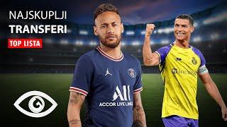 TOP 10: Najskuplji Transferi u Fudbalskoj Istoriji