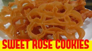 how to make rose cookies/challa guttulu