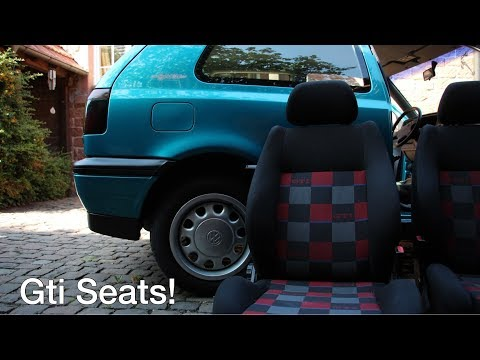 NEW SEATS FOR THE MK3 GOLF!! ( + Tons more )