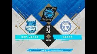 #LaLigaArgentina | PlayOff | Juego 1 | 25.04.2018 Deportivo Norte vs. Oberá Tenis Club thumbnail