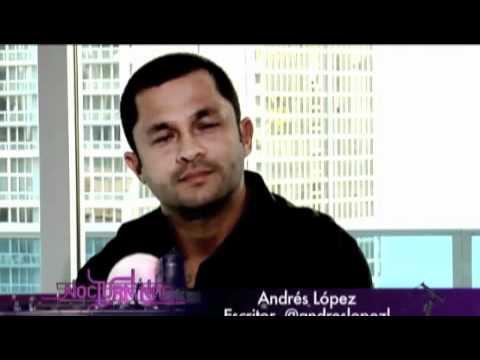 Andrés López (ex narcotraficante) en entrevista con Horacio Villalobos.