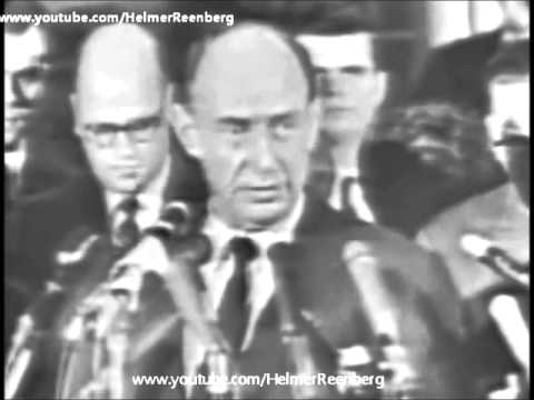 November 22, 1963 - US Ambassador to the UN Adlai Stevenson following President Kennedy
