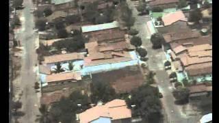 Festa da Melancia Uruana GO 2011 - voo de helicóptero
