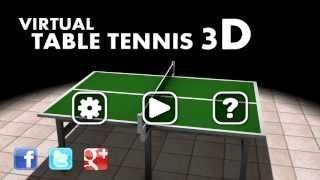 Virtual Table Tennis 3D игра на Андроид