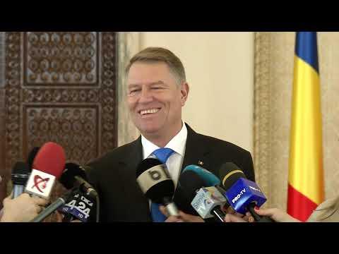 Declarația de presă susținută de Președintele României, domnul Klaus Iohan