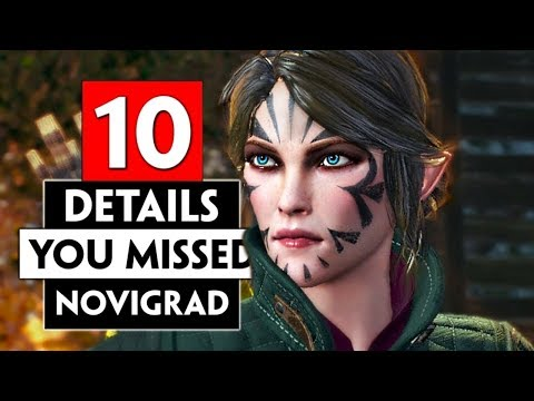 10 Details You Probably Missed In Novigrad | THE WITCHER 3