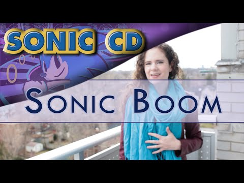 Sonic CD - Sonic Boom | Piano/Vocal Cover by Julia Henderson