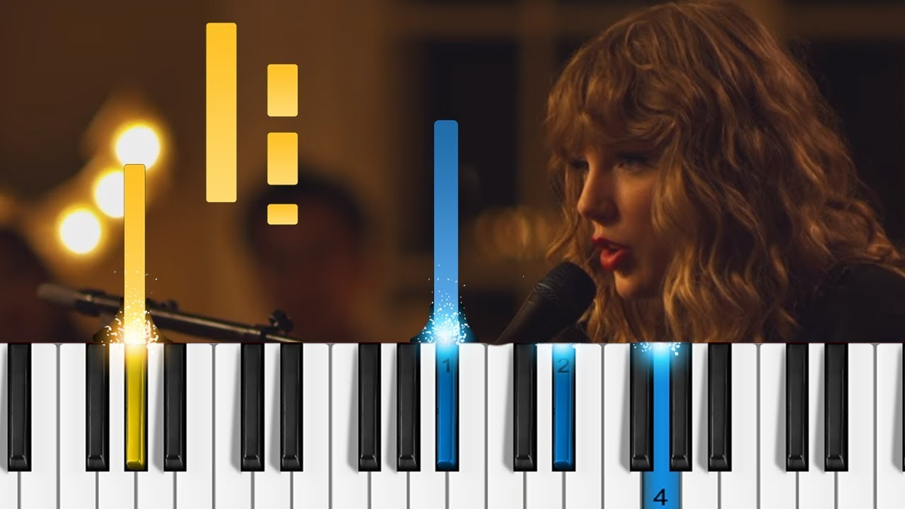 Taylor swift new years day easy piano tutorial youtube taylor swift new years day easy piano tutorial hexwebz Images