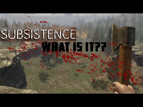NEXT BIG SURVIVAL GAME?? - Subsistence (Closed Beta)