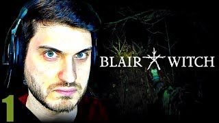WAY TOO DARK!! | Blair Witch (Part 1)