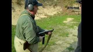 Test de Ametralladora A1M1 Thompson