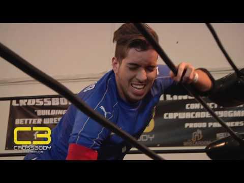 Cross Body Pro Wrestling  Episode 20  C Alessandro Del Bruno vs. Tyler Thomas