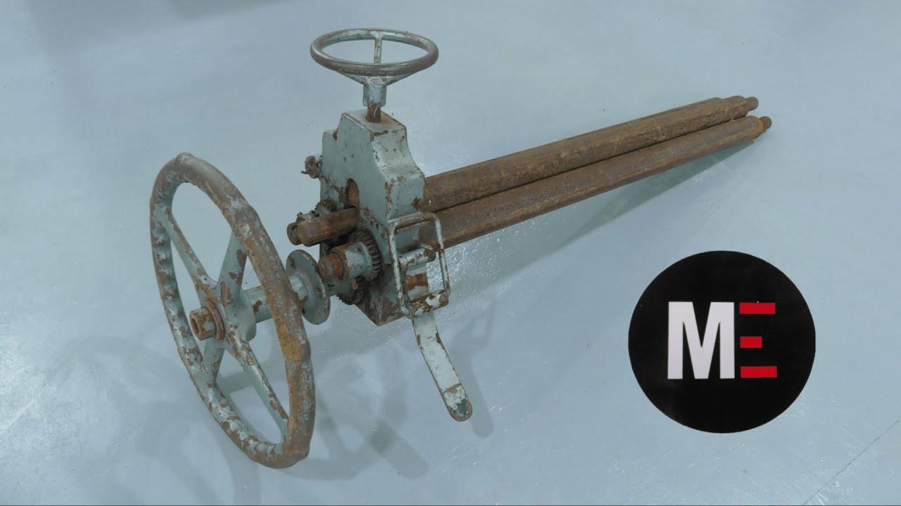 RESTAURACIÓN Y FABRICACIÓN DE PARTES  MAQUINA ROLADORA. (Restoration of rolling machine)