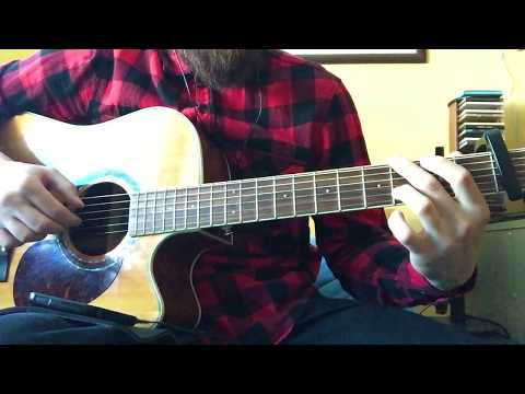 Mike Shinoda - Crossing A Line (guitar cover) #flannoda