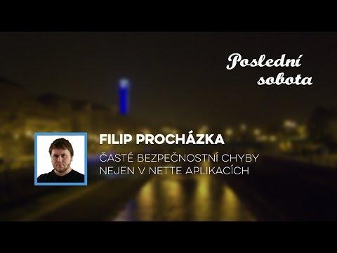 Filip Procházka – Časté bezpečnostní chyby nejen v Nette aplikacích