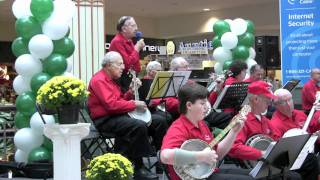 tri county banjo band colonie center mall performances albany ny