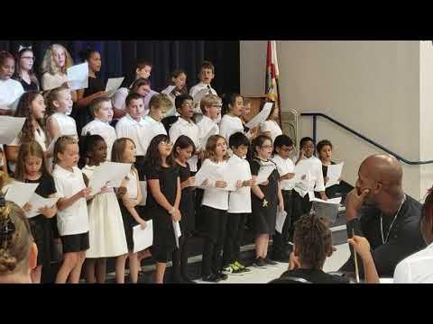 Jayde - Tavares Elementary School Chorus - 100919