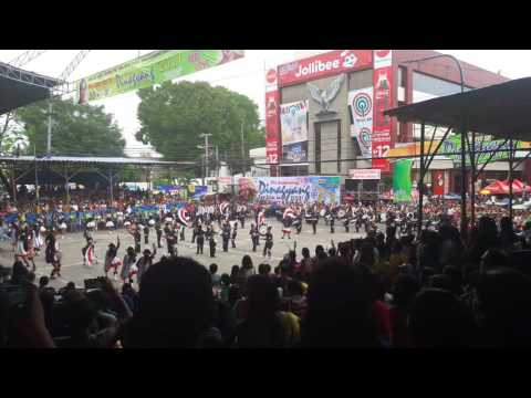 ILOILO CITY NATIONAL HIGH SCHOOL DRUM AND LYRR CORP .tambor trump martsa musika 2017