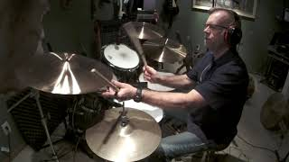 Lonely Boy (Andrew Gold) drum cover Jim Huwe 4 17 20