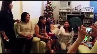 Cựu nữ sinh TV thăm giáo sư Mỹ Yến (1)