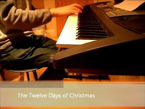 The Twelve Days of Christmas  Piano