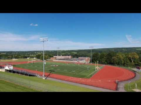 Drone Video Ep 2/ MY NEW SCHOOL IN USA / SAUQUOIT VALLEY HIGH SCHOOL