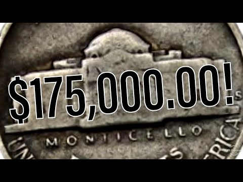 175 000 00 Type 1 Jefferson Nickel Youtube