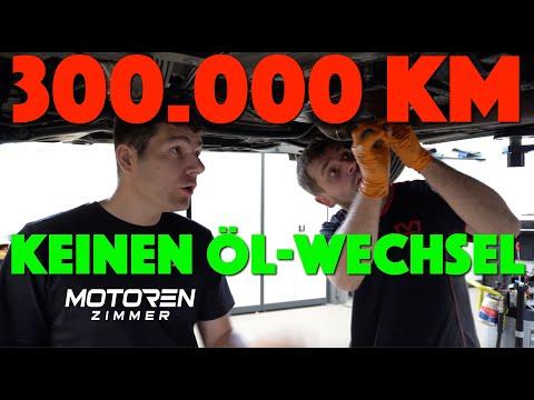 Erster Öl-Wechsel nach 300.000 KM ! Wir spülen jetzt !