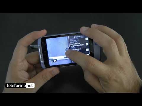 HTC Salsa videoreview da Telefonino.net