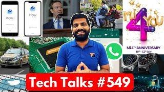 Tech Talks #549 - Whatsapp Fake Links, MediaTek 5G, Xiaomi Sale, Phone Lock, Google Duplex, Gear S4