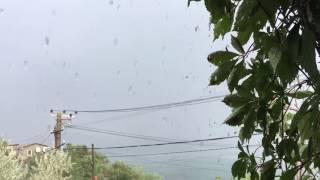 Погода в Крыму. Ливень в Коктебеле Крым 2016 Коктебель дождь в сентябре(На южном побережье Крыма идут дожди. Коктебель не остался в стороне. Мощный ливень обрушился на посёлок..., 2016-09-21T08:20:26.000Z)
