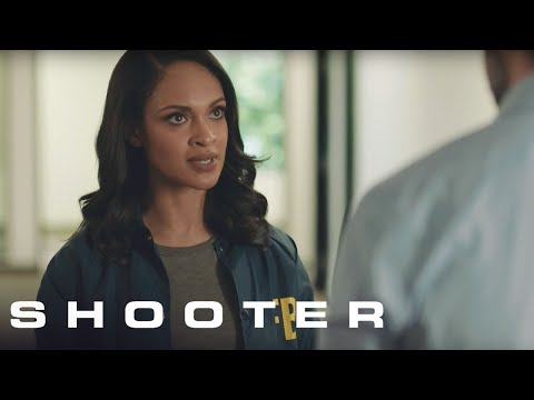 Shooter  Season 2: Behind the s  with Cynthia AddaiRobinson