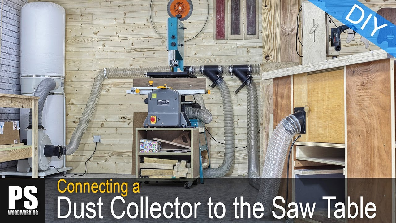 Connecting a dust collector to the saw router table youtube keyboard keysfo Images